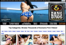 Bangbros is the best paid porn site for quality of acting
