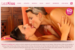 LezKiss the best site for lesbian kissing