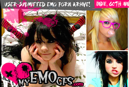 One of the greatest porn website to watch class-A emo flicks