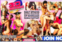 Top premium xxx website offering hot 3D quality porn