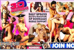 Top premium xxx website offering hot 3D quality porn