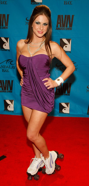 Rachel Roxx red carpet