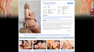 Phoenix Marie PornStar on Naughty America