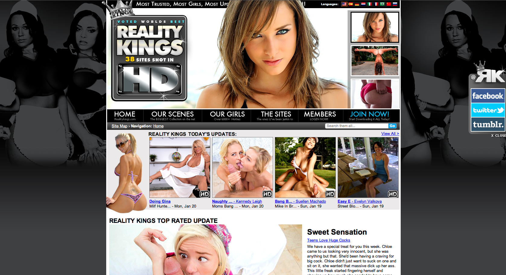 reality kings website screenshot