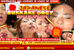 The finest paid adult site with amazing bukkake porn videos
